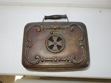 upcycle to handbag purse    --Old Heater  GIRODON VILLEURBANNE LYON steam punk