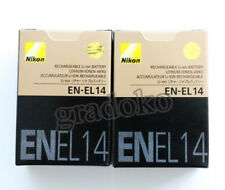 2 X EN-EL14 EL14 New battery for Nikon D5100 D3100 P7100 D3200 D5200  MH24