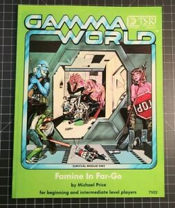 GW2: Famine in Far-Go - Gamma World