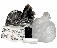 New 200 Trash Can Liners 55 - 60 Gallon Garbage Bags Commercial Coreless Roll