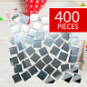 Mirror Tiles - Bulk DIY Craft Supplies - Arts & Crafts - 400 Pieces - 1/2""