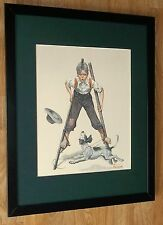 "Norman Rockwell encadrée Imprimer-dans le monde - 20 ""x16"", Norman Rockwell art"