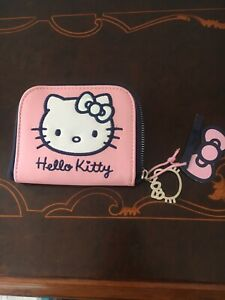 Hello Kitty Zipped  Purse