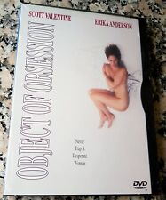 OBJECT OF OBSESSION NEW VERY RARE UNRATED Erotic Thriller DVD Erika Anderson