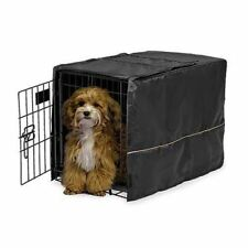 "Midwest Quiet Time Pet Crate Cover Black 23"" x 13.5"" x 15"" CVR-22"