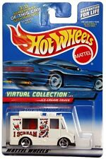 2000 Hot Wheels #144 Virtual Collection Ice Cream Truck white