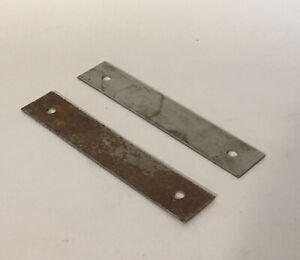 Athearn HO Blue Box Parts 40' Freight Car Steel Weight Part #90700 Set Of 2