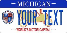 Michigan Motor License Plate Tag Personalized Auto Car Custom VEHICLE OR MOPED