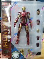 HOT!!! Marvel Select Mark XLIII Armor Iron Man MK43 PVC 7in Figure New IN Box