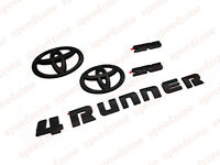 For 2014-2018 TOYOTA 4RUNNER BLACKOUT EMBLEM OVERLAY KIT OEM SR5
