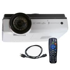 Promethean PRM-35 HD DLP Projector & OEM Remote HDMI, 3D Ready, Low Lamp Hours!