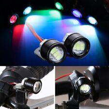 2 * Car LED Eagle Eye Lamp DC 12V 5W 20mm DRL Fog Light Security Auto StylingNew
