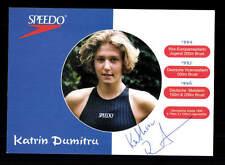 Katrin Dumitru autografiada mapa original firmado nadar + a 155355