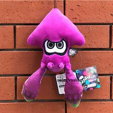 "Nintendo Splatoon Plush Toy Squid Cuttlefish Stuffed Animal Cute Doll Purple 9"""