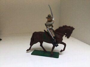 American Civil War.Confederate cavalryman.Horse Starlux France, rider TSSD