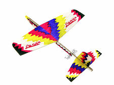 Lanyu Hand Launch Balsa Wood Glider Plane DIY Build&Paint Model Kit, US 7014