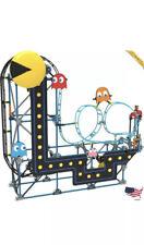 KNEX PAC-MAN Roller Coaster Building Set - 432 Parts - Roller Coaster Building