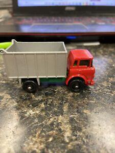 vintage lesney matchbox no 26 GMC tipper truck