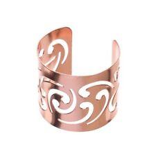 Metal Napkin Ring Holders, Bulk Napkin Rings, Set of 12 (Swirl, Rose Gold)