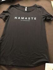 Lululemon Love Crew Expression 'Namaste In Vancouver' - Size 6 - NWT - Black