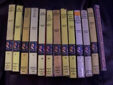 Lot of 13 Vintage Nancy Drew Books 12 HARDCOVER #59 SECRET IN THE OLD LACE  #15
