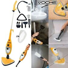 VOCHE® 1300W 12-in-1 HOT STEAM MOP HAND HELD STEAMER FLOOR CLEANER CARPET WASHER