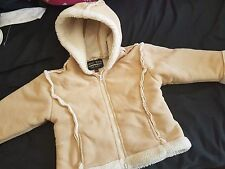 Children's frost bite Fun-Fur Coat age 2 By Frost Bite great for winter weather