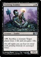 MTG Magic M14 - (4x) Gnawing Zombie/Zombie rongeur, English/VO
