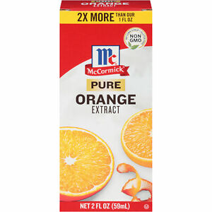 McCormick Pure Orange Extract, 2 fl oz (Pack of 2)
