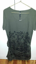 TS khaki and black Tunic Size XS Brand new with tags