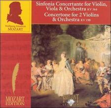 MOZART: SINFONIA CONCERTANTE; CONCERTONE NEW CD