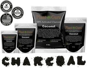 Activated Charcoal Powder Organic 100% Natural Food Grade Bulk Teeth Whitening