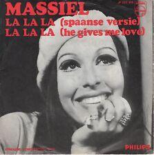 7inch MASSIELla la la ( spaanse versie)HOLLAND 1968 EX  (S1854)