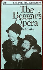 The Beggar's Opera by John Gay, NT Cottesloe Theatre Programme 1982