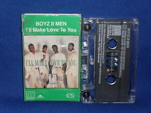 BOYZ II MEN I'LL MAKE LOVE TO YOU – RARE AUSTRALIAN CASSINGLE