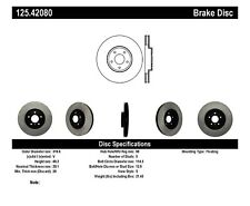 High Carbon Alloy Brake Disc fits 2004-2009 Nissan Murano Maxima 350Z  CENTRIC P