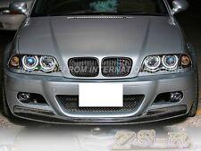 CSL Type Carbon Fiber Front Bumper Lip for BMW 01-06 E46 M3 Coupe Convertible