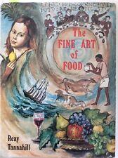 The Fine Art Of Food, Tannahill (HC 1968) Folio Society, Social History Painting