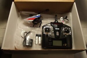 WL TOYS V911 Pro RC helicopter RTF used, excellent condition w/parts.