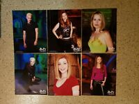 BTVS Buffy Vampire Slayer Official 8x10 Photo lot of 6 Spike + Willow +