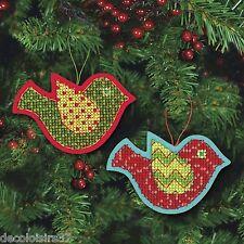 Dimensions  72-08240  Ornements  Oiseau  jovial  Appliqué en feutre