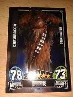 Force Attax Star Wars Movie 3 Star-Karte 208 Chewbacca Sammelkarte