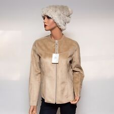 NWT Bogner Way to B Polyester Faux Sherpa Jacket EU38 Medium