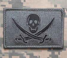 CALICO JACK NAVY SEAL PIRATE FLAG DEVGRU NSWDG ACU DARK VELCRO® BRAND PATCH