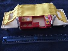 CAMPER TRAILER-#992 Family Pop-Up Camper-Vintage Fisher Price Little People