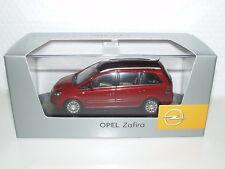 Opel Zafira B, rot Modellauto 1:43