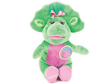 "OFFICIAL BRAND NEW 21"" SITTING BABY BOP PLUSH SOFT TOY FRIEND OF BARNEY AND BJ"