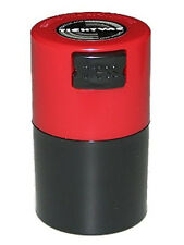 .06 Liter Tightpac Pocketvac Air & Smell Proof Vacuum Sealed Container Red