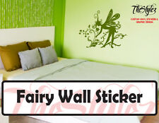 Fairy Vintage/Silhouette Vinyl Sticker Series