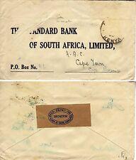 Crash mail letter 1939 Kenya